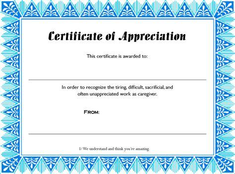 printable certificate template search results for appreciation certificate templates calendar 2015