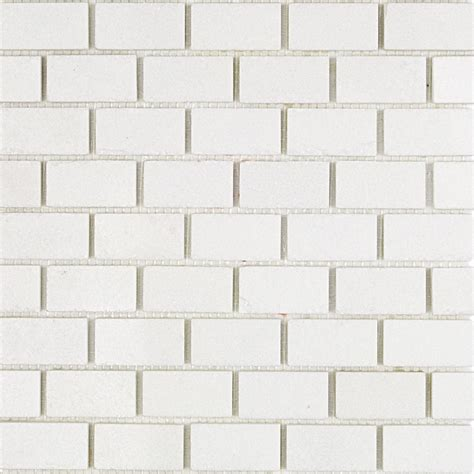 white marble brick tiles shop for polished white thassos 1x2 marble tile at tilebar com