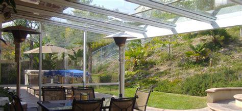 glass roof patio covers california sunroom pros