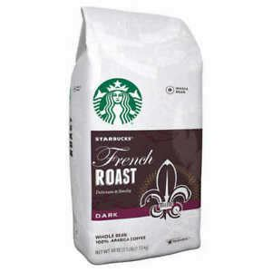 It showcases the precision and skill of our roasters, who created a coffee slightly darker than our espresso roast without the smoky edge of french roast. Starbucks French Roast Coffee, Dark Roast, Whole Bean, 2.5 lbs 762111614902 | eBay