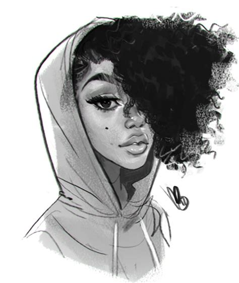 Girl Hair Drawing Drawn Girl Black Hair Pencil And In Color Drawn Girl