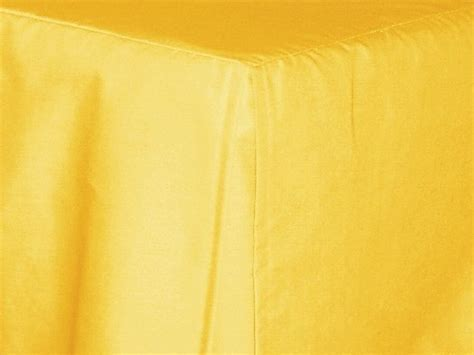 Golden Yellow Tailored Bedskirt (for cribs and daybeds and
