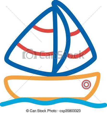 Barco Dibujo Infantil ilustraciones de vectores de barco dibujo infantil