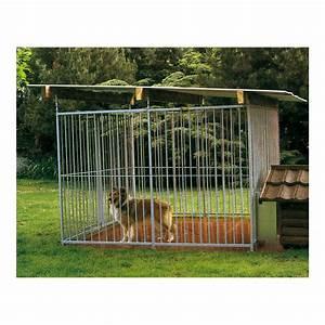Chenil Extérieur Pour Chien : ducatillon panneaux de chenil chiens ~ Melissatoandfro.com Idées de Décoration