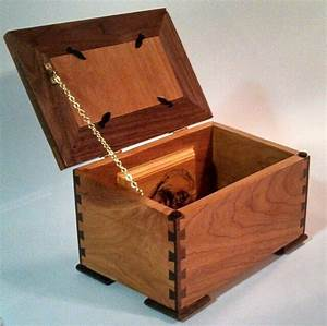 Dovetail Keepsake Box Plans - WoodWorking Projects & Plans