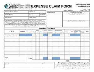 4 expense claim form templates excel xlts With simple expenses claim form template