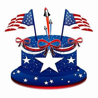 Patriotic Cake Clipart July 4th Birthday Clip