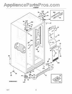 Parts For Frigidaire Lghc2342lf3      Cabinet Parts