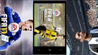 fifa 2017 windows phone app co