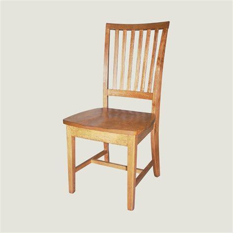 slat back chair true