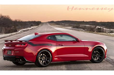 Watch The 2018 Hennessey Chevrolet Camaro Ss Hit 202 Mph