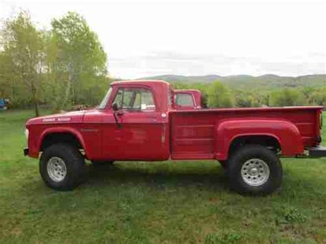 1967 Dodge Power Wagon by Sell Used 1967 Dodge Power Wagon W 440 Motor Auto