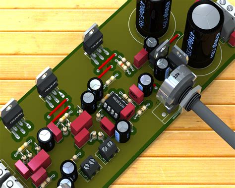 World Technical Circuit Power Audio Amplifier With
