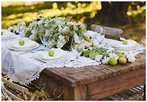 Deco De Table Champetre : 20 id es d co pour un mariage champ tre romantique ~ Melissatoandfro.com Idées de Décoration