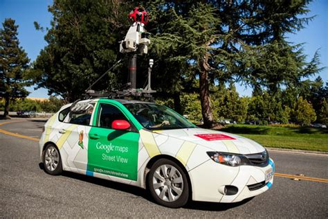 Google Brings Its Air-mapping Street View Cars To