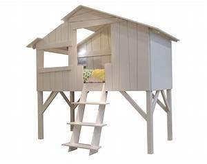Lit Cabane Mezzanine : lits cabanes lit mezzanine by mathy by bols design fran ois lamazerolles ~ Melissatoandfro.com Idées de Décoration