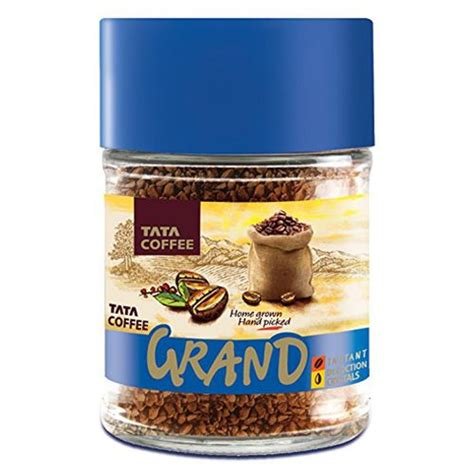 Nse » tatacoffee and bse » 532301. Buy Tata Instant Coffee - Grand Online at Best Price - bigbasket