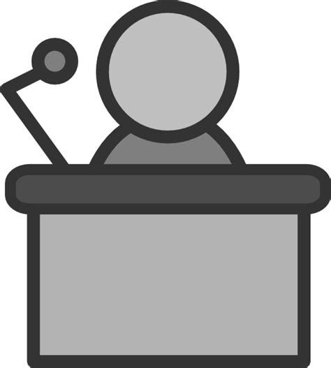 Speaker Clip At Clker Vector Clip Speaker Presenter Clipart Clipart Suggest