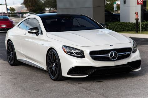 It was a state official vehicle for more countries and its features attracted wealthy men to drive it or to be driven in it. Used 2017 Mercedes-Benz S-Class AMG S 63 For Sale ($117,900) | Marino Performance Motors Stock ...