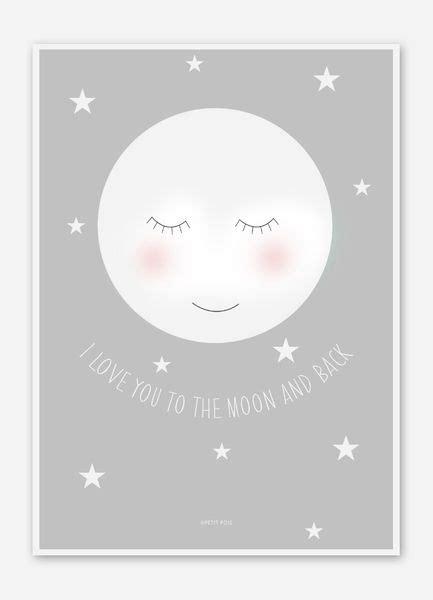 Kinderzimmer Bilder Mädchen by Illustrationen Mond Bild Poster F 252 R Das Kinderzimmer