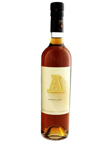 amontillado sherry fernando castilla antique andalucia spain wine