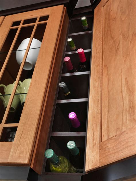 kitchen cabinet wine racks pantry organizers pictures options tips ideas hgtv 5865
