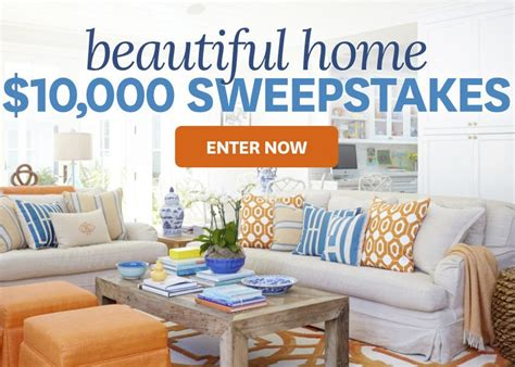 better homes and gardens sweepstakes better homes and gardens 10 000 beautiful home sweepstakes