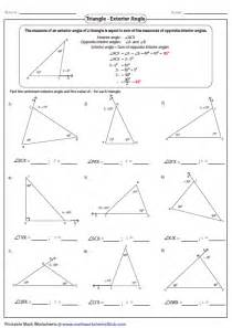 Find Missing Angles Worksheet Gallery For Gt Classifying Triangles By Sides And Angles Worksheet