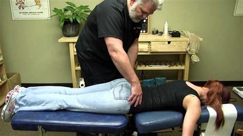 girls  chiropractic  adjustment hips