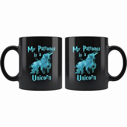 Mug German Shepherd Pawsome Patronus Unicorn Wizard