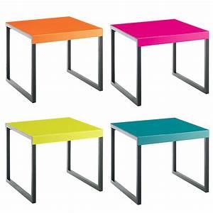 Table D Appoint Metal : table d appoint kilo ~ Teatrodelosmanantiales.com Idées de Décoration