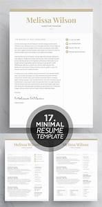 Professional Letter Template Word 25 Best Minimalism Resume Templates 2018 Design