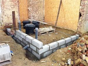 Construire Mur Parpaing : au pied du mur le blog de la tournichette ~ Premium-room.com Idées de Décoration