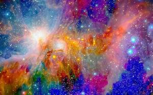 Most Psychedelic Nebula Gathering Photograph by Ron Fleishman