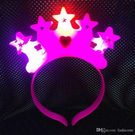 light up star headband kids light up crown star headband blinking led