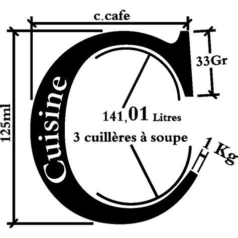 unité de mesure cuisine sticker cuisine unité de mesure de cuisine stickers