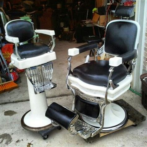 pin by custom barber chair restoration on antique barber