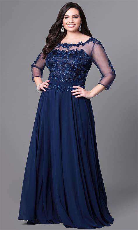 formal  size lace applique prom dress promgirl