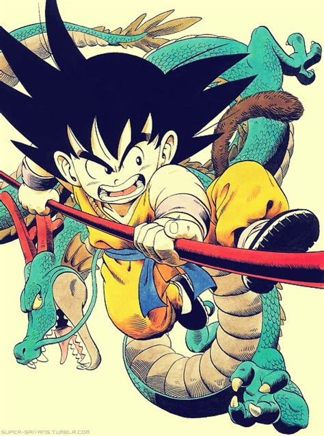 dragon ball goku  shenron visit    dragon