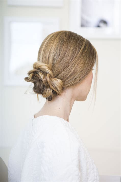 Nailing The Perfectly Loose Low Bun   Camille Styles