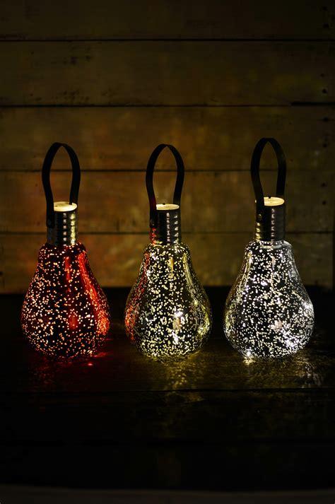 mercury glass light bulbs christmas ornaments battery op