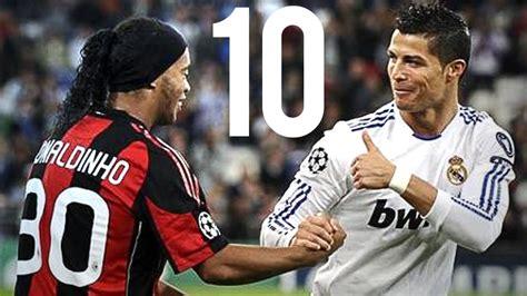 Cristiano Ronaldo Vs Ronaldinho The 10 Greatest Goals Ever
