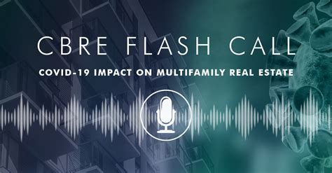 cbre flash call covid  impact  multifamily real