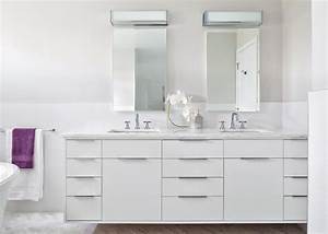 Floating, Vanity, In, Contemporary, Master, Bath