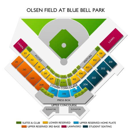 Olsen Field at Blue Bell Park Seating Chart