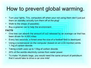 compare and contrast global warning