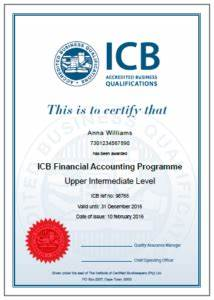 ICB National Certificate: Small Business Financial ...