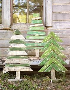 Basteln Mit Holz Ideen : mit recyceltem holz basteln zu weihnachten f r ~ Lizthompson.info Haus und Dekorationen