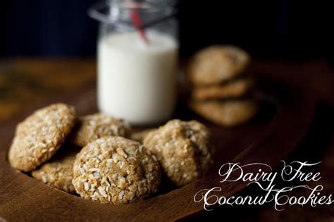 Dairy Free Double Coconut Cookies Recipe