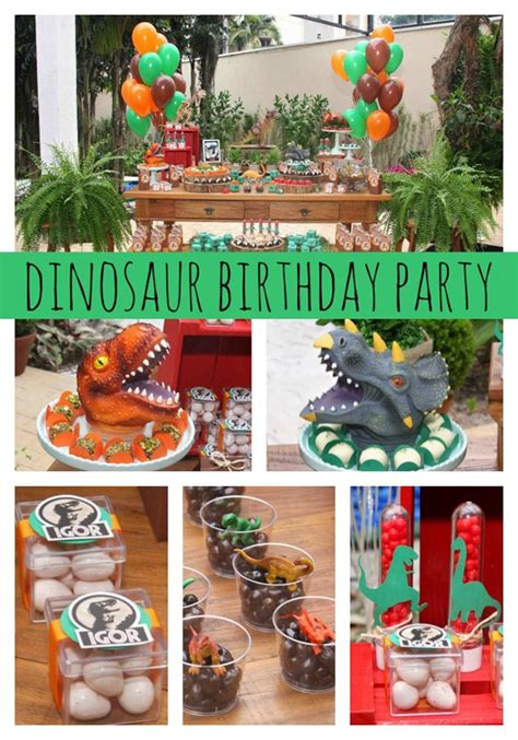 Jur Ic Park Themed Party Pretty Party
